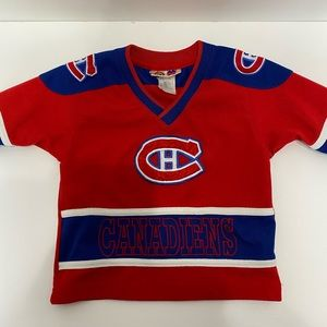 Montreal Canadians toddler jersey 18 months